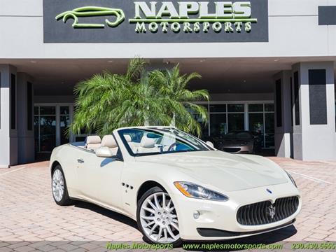 2011 Maserati GranTurismo for sale at Naples Motorsports in Naples FL