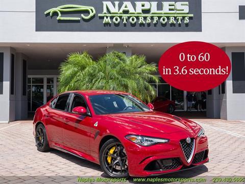 2017 Alfa Romeo Giulia Quadrifoglio for sale in Naples, FL