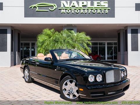 2008 Bentley Azure for sale at Naples Motorsports in Naples FL