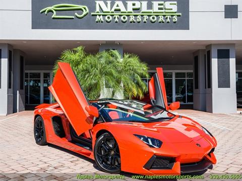 Used Lamborghini Aventador For Sale In Florida Carsforsale Com