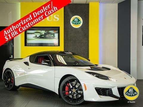 2018 Lotus Evora 400 for sale in Naples, FL