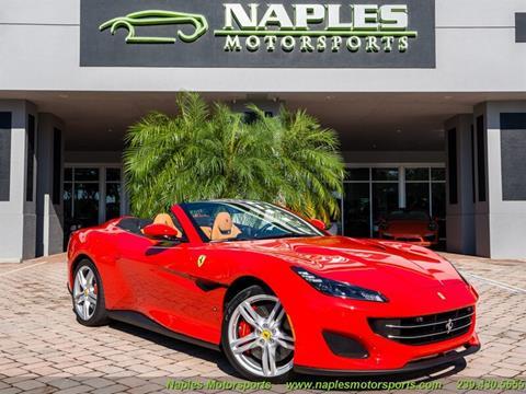 2019 Ferrari Portofino for sale in Naples, FL