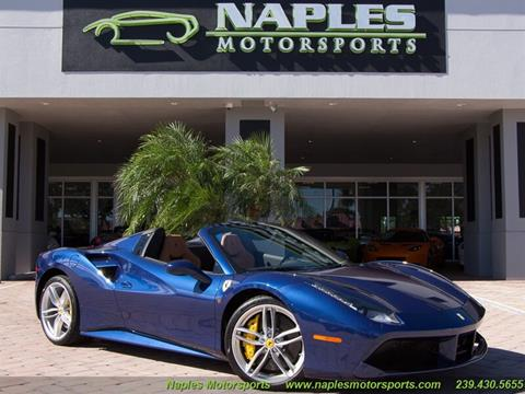 2016 Ferrari 488 Spider for sale in Naples, FL