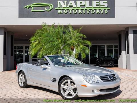 2005 Mercedes-Benz SL-Class SL 500 for sale at Naples Motorsports in Naples FL