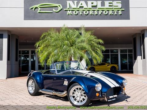 1965 Replica/Kit Backdraft Racing for sale at Naples Motorsports in Naples FL