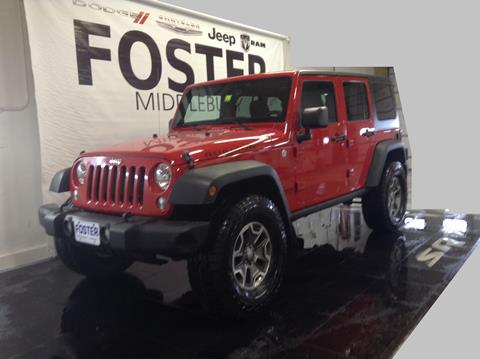 2014 Jeep Wrangler Unlimited for sale in Middlebury, VT
