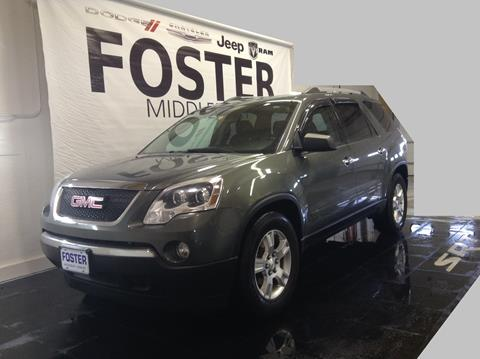 2011 GMC Acadia for sale in Middlebury, VT