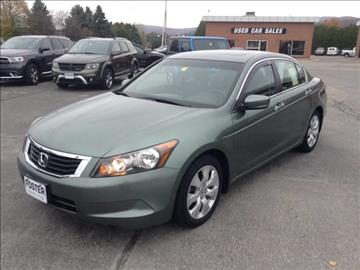 2009 Honda Accord for sale in Middlebury, VT