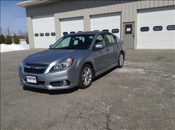 2013 Subaru Legacy for sale in Middlebury, VT