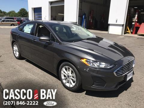 2019 Ford Fusion for sale in Yarmouth, ME