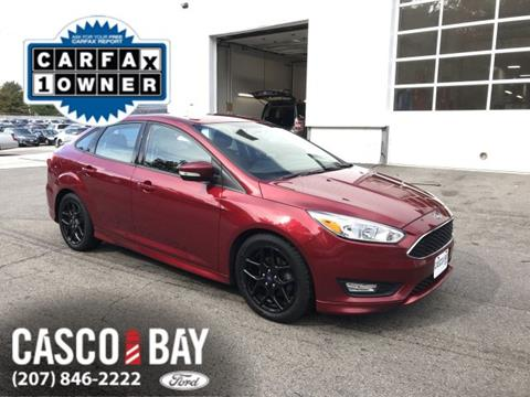 2016 Ford Focus for sale in Yarmouth, ME