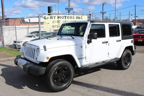 2012 Jeep Wrangler Unlimited for sale in Lodi, NJ