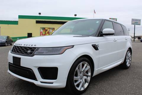 2019 Land Rover Range Rover Sport for sale at Vantage Auto Wholesale in Lodi NJ