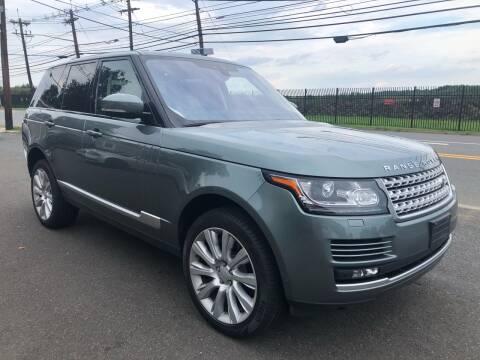 2017 Land Rover Range Rover for sale at Vantage Auto Wholesale in Lodi NJ