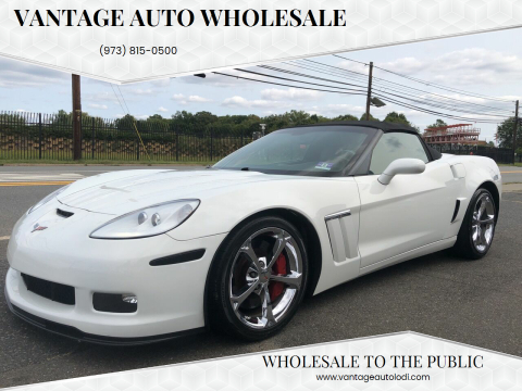 2010 Chevrolet Corvette for sale at Vantage Auto Wholesale in Lodi NJ