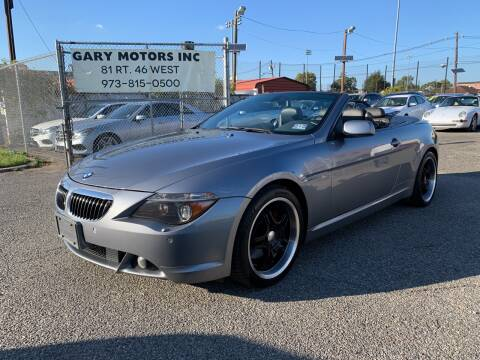 2004 BMW 6 Series for sale at Vantage Auto Wholesale in Lodi NJ