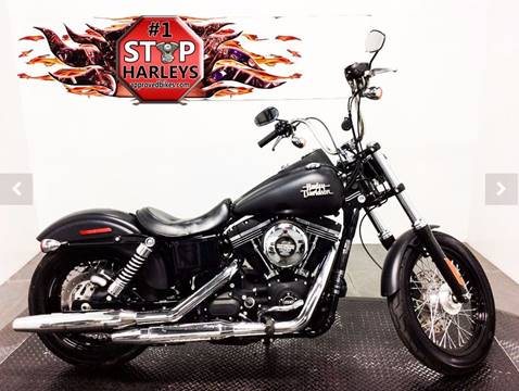 2015 Harley-Davidson Dyna Street Bob for sale at #1 Stop Harleys in Peoria AZ