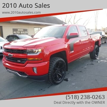 2016 Chevrolet Silverado 1500 for sale at 2010 Auto Sales in Troy NY