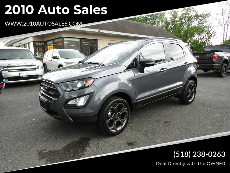 2018 Ford Ecosport Ses Awd 4dr Crossover