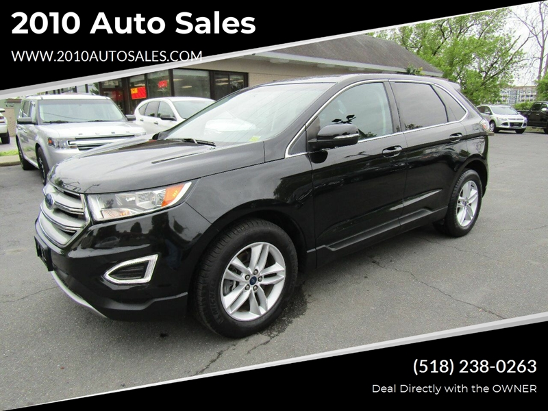 2015 Ford Edge Sel Awd 4dr Crossover