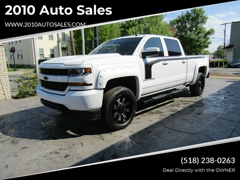 2018 Chevrolet Silverado 1500 for sale at 2010 Auto Sales in Troy NY