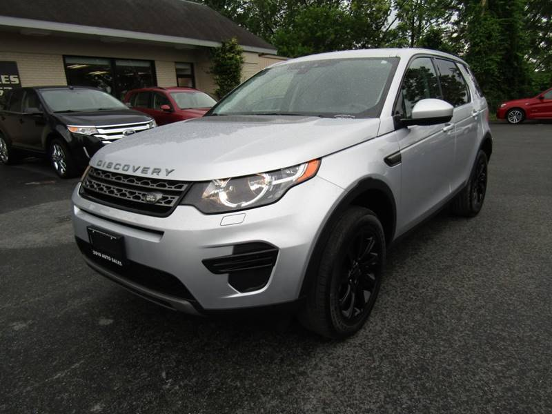 2016 Land Rover Discovery Sport Se Awd 4dr Suv