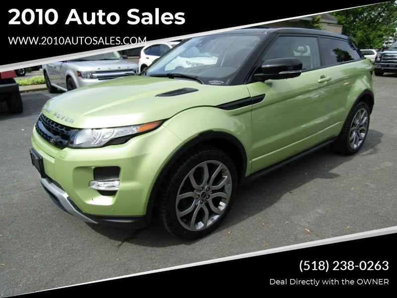 2012 Land Rover Range Rover Evoque Coupe Dynamic Awd 2dr Suv