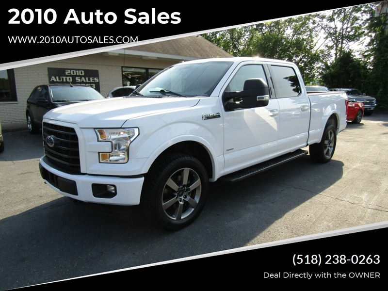 2017 Ford F-150 Xlt 4x4 4dr Supercrew 6.5 Ft. Sb