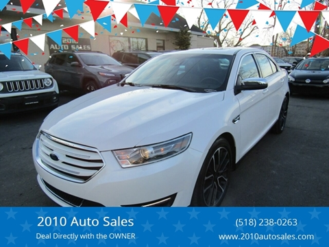 2019 Ford Taurus for sale at 2010 Auto Sales in Troy NY