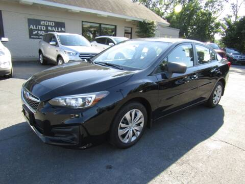 2018 Subaru Impreza for sale at 2010 Auto Sales in Troy NY
