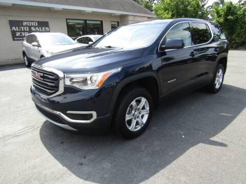 2017 GMC Acadia for sale at 2010 Auto Sales in Troy NY