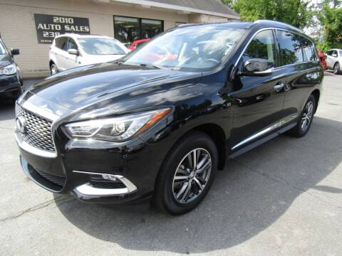 2017 Infiniti QX60 for sale at 2010 Auto Sales in Troy NY