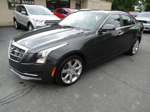 2016 Cadillac ATS for sale at 2010 Auto Sales in Troy NY
