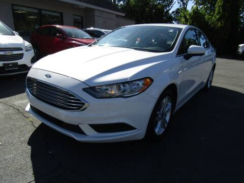 2018 Ford Fusion for sale at 2010 Auto Sales in Troy NY