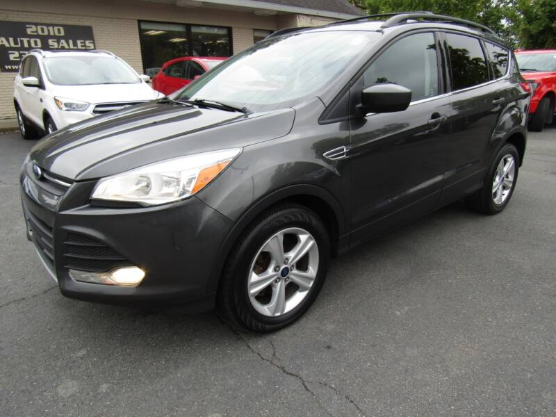 2016 Ford Escape for sale at 2010 Auto Sales in Troy NY