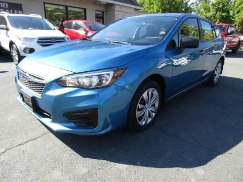 2017 Subaru Impreza for sale at 2010 Auto Sales in Troy NY