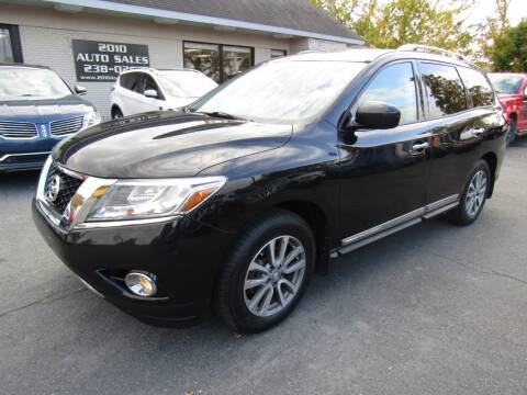 2016 Nissan Pathfinder for sale at 2010 Auto Sales in Troy NY