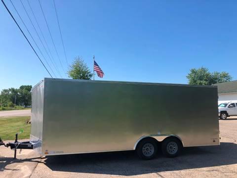 2020 Cargo Mate 8.5X20 VNOSE RAMP DOOR for sale in Wayland, MI