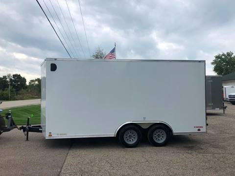 2020 Cargo Mate 8.5X16 VNOSE RAMP DOOR  for sale in Wayland, MI