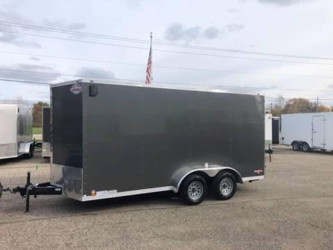 2020 Cargo Mate 7X16 VNOSE RAMP DOOR for sale in Wayland, MI