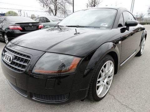 2004 Audi TT for sale at Boss Motor Company in Dallas TX