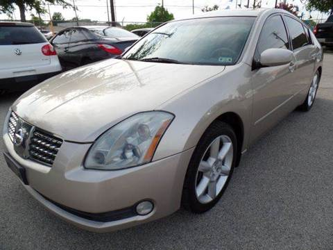 2005 Nissan Maxima for sale at Boss Motor Company in Dallas TX