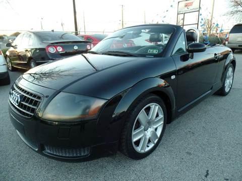 2003 Audi TT for sale at Boss Motor Company in Dallas TX