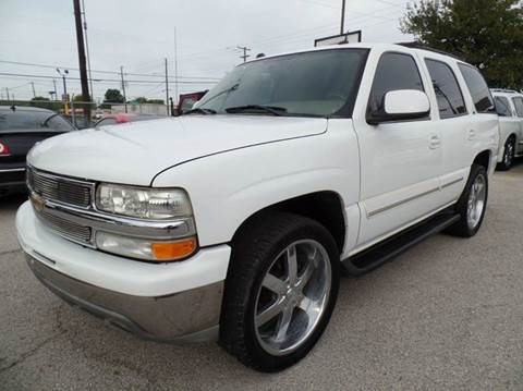 2005 Chevrolet Tahoe for sale at Boss Motor Company in Dallas TX