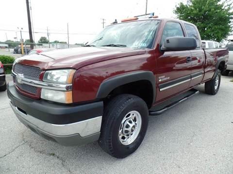 2003 Chevrolet Silverado 2500HD for sale at Boss Motor Company in Dallas TX