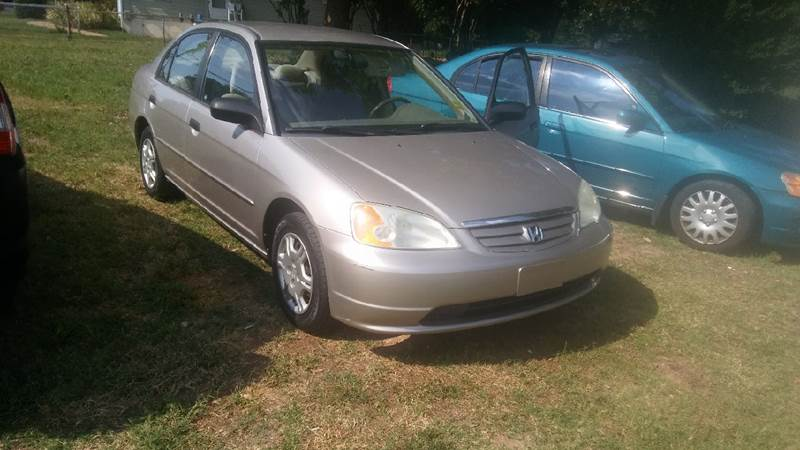 2001 Honda Civic LX 4dr Sedan - Winston Salem NC