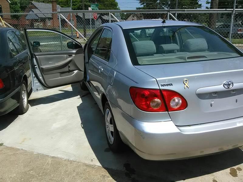 2007 Toyota Corolla CE 4dr Sedan (1.8L I4 5M) - Winston Salem NC