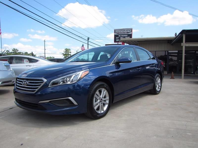 2017 Hyundai Sonata 4dr Sedan   Houston TX
