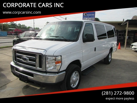 2012 Ford E-Series Chassis for sale in Houston, TX