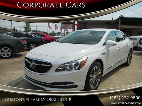 2018 Buick LaCrosse for sale in Houston, TX